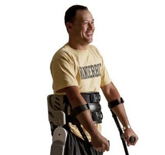 Parker Hannifin developing robotic exoskeleton to help paralyzed people walk (video)   Exoskeleton Systems   Scoop.it