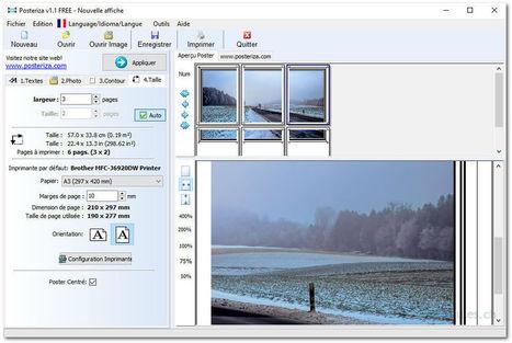 Posteriza - Créez des affiches à partir de vos photos numériques | Chroniques libelluliennes | Scoop.it