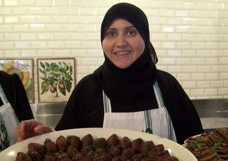 «Atayeb Zaman»: des réfugiées syriennes cuisinent pour oublier l'exil - Catherine-Léa OTAYEK | Charliban Lebnen | Scoop.it