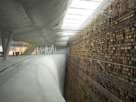 Stockholm library render   Architectural renderings and digital architecture   Scoop.it