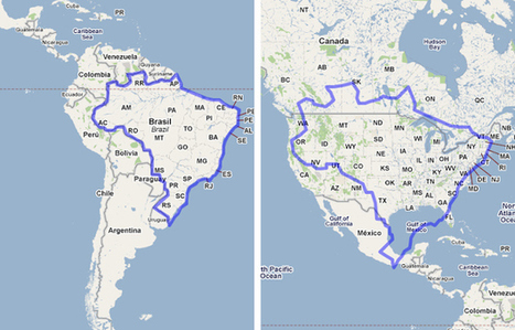 19 Maps That Will Help You Put The United States In Perspective | April Utah Geographic Alliance Newsletter | Scoop.it