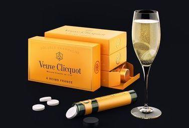 Intox? Du champagne Veuve Clicquot en pastille effervescente - Magazine du vin - Mon Vigneron | Actualités du Vin | Scoop.it