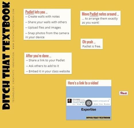 20 useful ways to use Padlet in class now   Médias sociaux en classe   Scoop.it