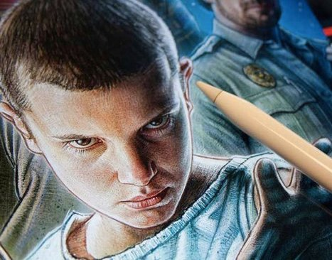 La locandina di Stranger Things creata con iPad Pro e Apple Pencil | Circolo d'Arti | Scoop.it