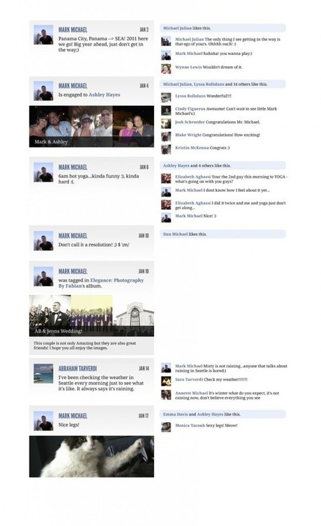 Flip Through Your Facebook Timeline With Yearly Leaf - AllFacebook   Digital-News on Scoop.it today   Scoop.it