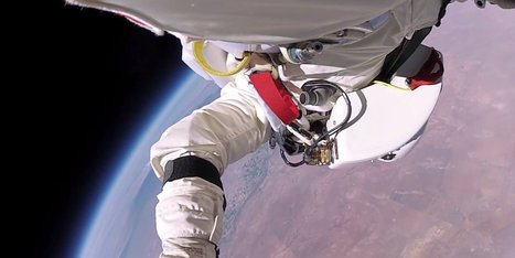 WATCH: Insane New Footage Of Edge-Of-Space Skydive | ScoopCapture | Scoop.it