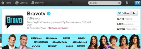 How To Conduct A Successful Twitter Campaign c/o Bravo Television | Marketing on social platforms | Scoop.it