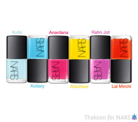 Americana Meets Maharaja in Thakoon's Nail Polish Collection for NARS | Trending Beauty | Scoop.it