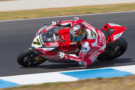 Andrew Gosling's World Superbike Phillip Island Testing Shots, Day 1 | Ductalk Ducati News | Scoop.it