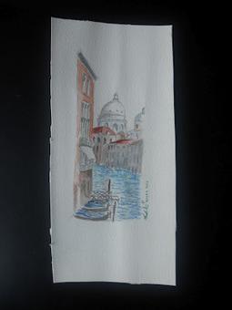 DilettARTE: Veduta sul canale, acquarello un pò improvvisato | arte e ozio | Scoop.it