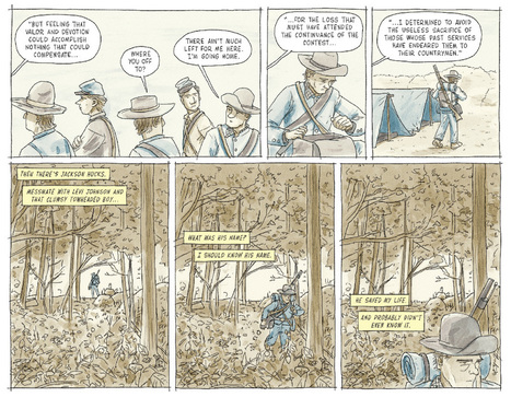 On Its 150th Anniversary, a Graphic Retelling of Lee's Surrender at Appomattox | TJMS United States History | Scoop.it