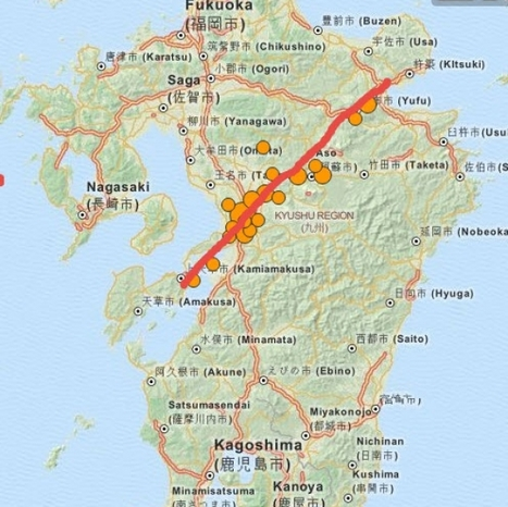 SuperStation95 - KYUSHU JAPAN SPLITTING APART? Evacuations ordered! | Japan Tsunami | Scoop.it