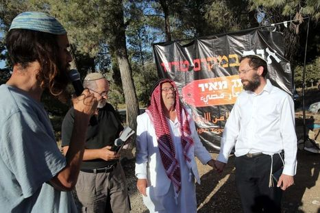At kidnapping site, Jews and Muslims join in prayer | Humanity | Scoop.it