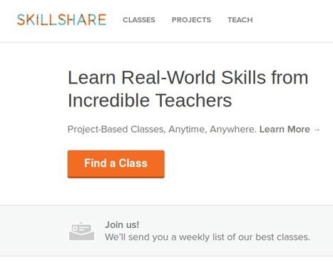 Un lugar para aprender de y con otros: Skillshare   Maestr@s y redes de aprendizajes   Scoop.it
