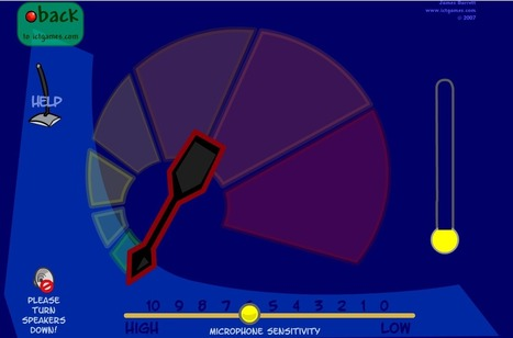 Free Technology for Teachers: Two Browser-based Noise Meters That Show Students How Loudly They Speak   St. Patrick's Professional Learning Network   Scoop.it