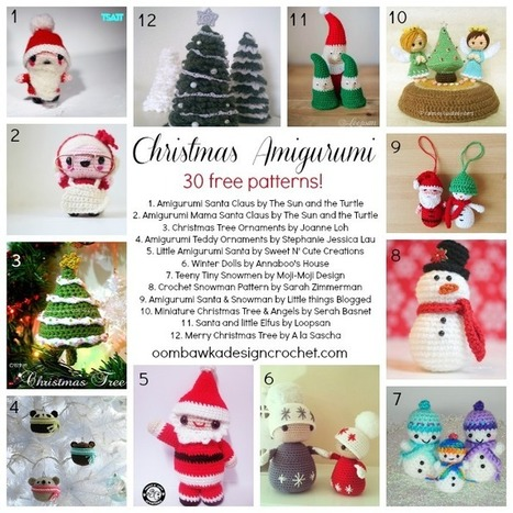 Christmas Crochet Nativity Scene Amigurumi Patterns - Crochet News | 467x467