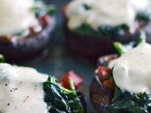 Gevulde portobello op z'n Italiaans   La Cucina Italiana - De Italiaanse Keuken - The Italian Kitchen   Scoop.it