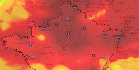 Le pic de pollution illustré par des cartes du nuage de particules fines | Planete DDurable | Scoop.it