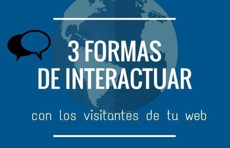 3 herramientas para interactuar en directo con los visitantes de tu sitio web | Educacion, ecologia y TIC | Scoop.it