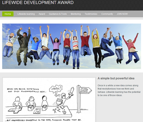 Lifewide Development Award | Lifewide Education UK | Learning & Teaching in HE | Scoop.it