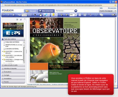 ERPI Édition en ligne > Tout le contenu en ligne | Enseigner aujourd'hui, les outils du prof moderne | Scoop.it