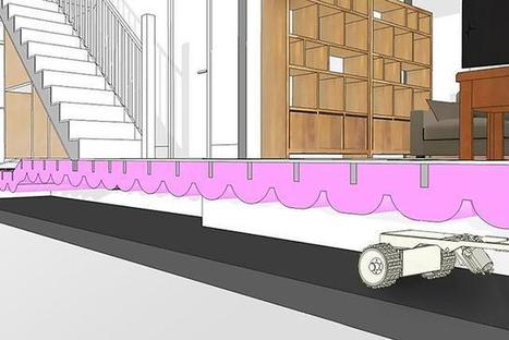 Insulation laying robot gets funds to commercialise - E & T Magazine   Robolution Capital   Scoop.it