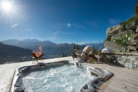 Chalet Trois Couronnes- Beautiful Resort with Spectacular Views, Switzerland | Art, Design & Technology | Scoop.it