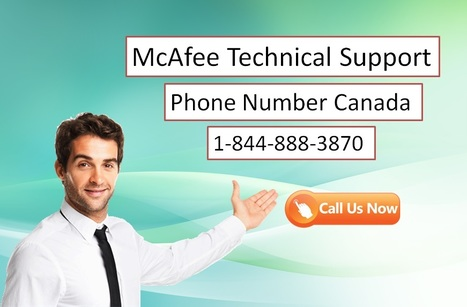 McAfee Customer Support Canada   Scoop it