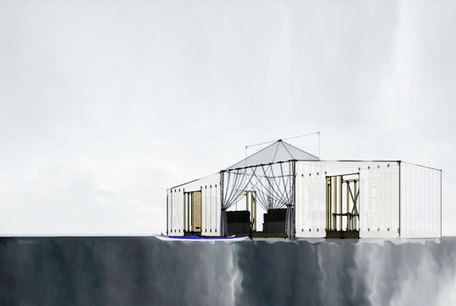 [Architecture HLM !] Floatel: An Off-Grid Floating Tent Retreat with All the Comforts of Home | The Architecture of the City | Scoop.it