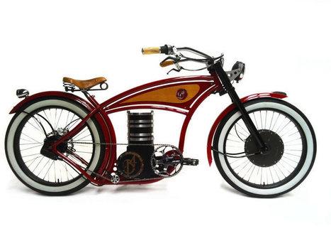 (VIDEO) B4 Bikes, les vélos électriques Choppers venus de Hollande | STRATOGINA | Scoop.it