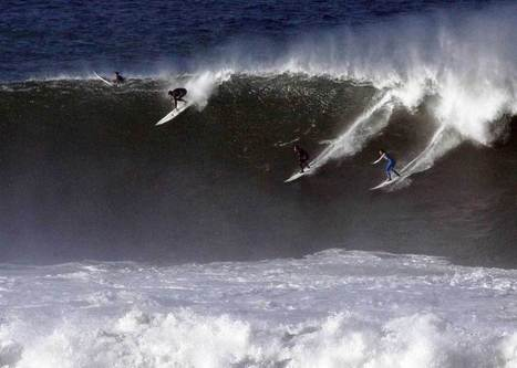 Mother Nature grants Mavericks waves, weather - SFBay | surf | Scoop.it
