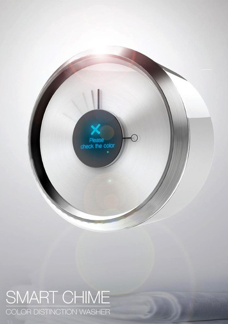 Smart Chime – Washing Machine Concept | Art, Design & Technology | Scoop.it