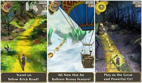 Temple Run Oz Review – Game Launched by Disney and Imangi Studios | SPITWebsolution Blog | JOIN SCOOP.IT AND FOLLOW ME ON SCOOP.IT | Scoop.it