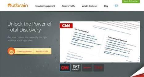 Outbrain | Artículos relacionados de otras webs para ofrece contenido curado al lector | realidad aumentada v | Scoop.it