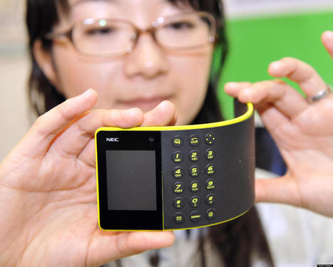 Flexible Battery Breakthrough In Quest For A Bendable Phone | It's All Social | Scoop.it