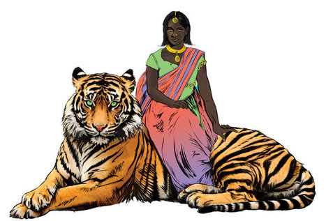 India's New Comic Book Hero Fights Rape, Rides On The Back Of A Tiger | Media for development | Scoop.it