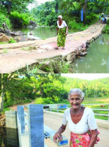 100 Bridges Complete To  Narrow Village, Town Gap | The Sunday Leader (Sri Lanka) | Kiosque du monde : Asie | Scoop.it
