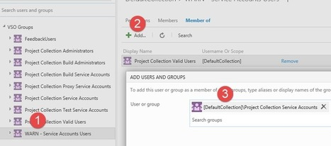 How to add a user to Project Collection Service Account in TFS / VSO Alkampfer's Place | | Visual Studio ALM | Scoop.it