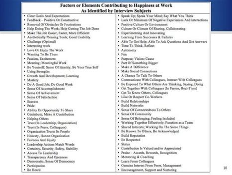 Gestión del conocimiento y la felicidad en el trabajo ( y 2) | Educació inclusiva i Noves Tecnologies | Scoop.it