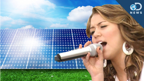 DNews: Pop Music Makes Solar Cells More Efficient : DNews | Good Advice | Scoop.it