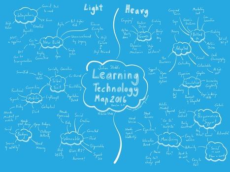 Learning Technology Map 2016 | elearning | Scoop.it