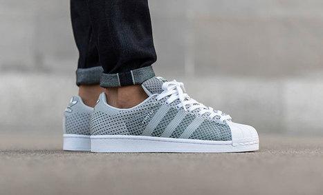 Adidas Originals Stan Smith / Superstar en tissu Weave