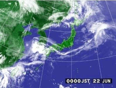 [météo] La carte satellite heure par heure | The Daily Yomiuri | Japon : séisme, tsunami & conséquences | Scoop.it