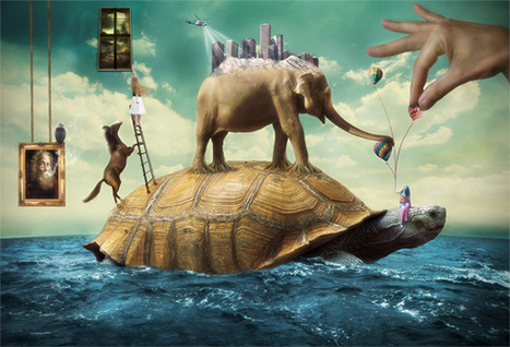 Create a Beautiful Surreal Scene Full of Life in Photoshop | Photoshop Photo Effects Journal | Scoop.it