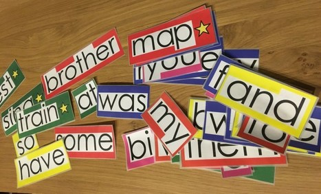Word Walls: Getting the resources ready | AAC: Augmentative and Alternative Communication | Scoop.it