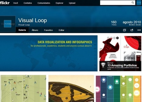 Top 20 Flickr Groups for Infographics | Visual Loop | Hitchhiker | Scoop.it