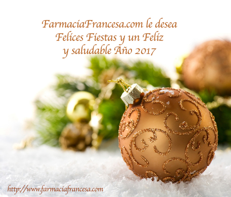 FarmaciaFrancesa.com te desea Felices Fiestas | Apasionadas por la salud y lo natural | Scoop.it