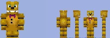 Spring Bonnie Skin Minecraft Mods Download - Skins para minecraft pe bonnie