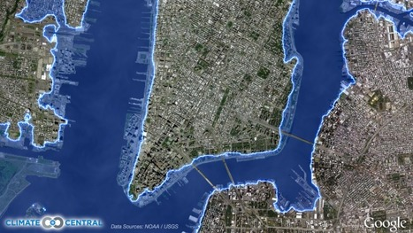 Maps Show Quarter Million New Yorkers Reside Below Potential Storm Surge Level   Climate Central   Mapping NYC hurricane   Scoop.it