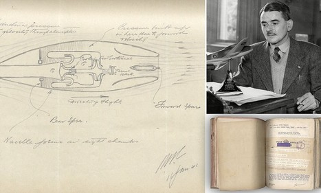 Jet engine blueprints drawn expected to fetch £30,000 at auction | British Genealogy | Scoop.it